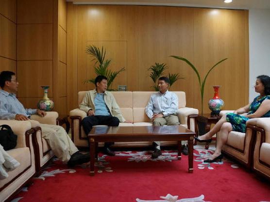 王濱董事長會見我國駐世界貿易組織常駐代表易小準大使