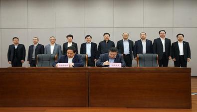 中国bwin必赢亚洲与杭州市政府签署战略合作协议